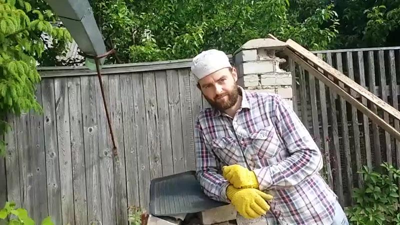 [James Baker] Тротуарная плитка без вибростола и пластификатора