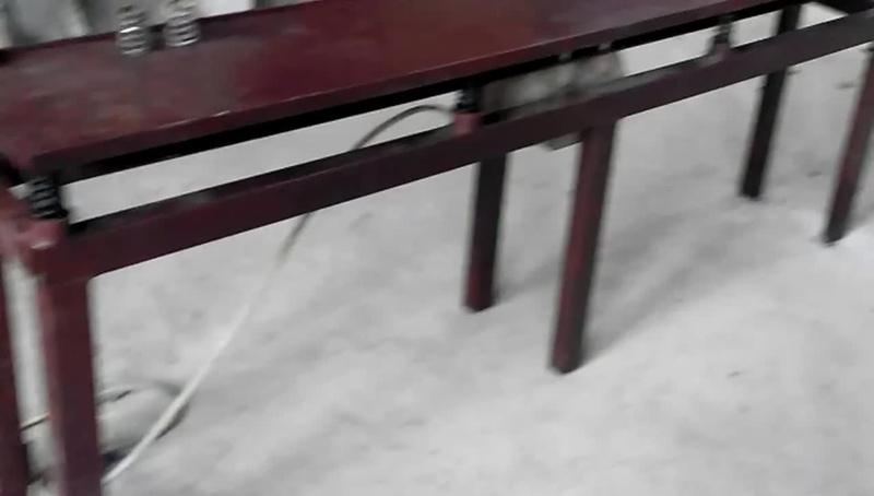 Как сделать вибростол