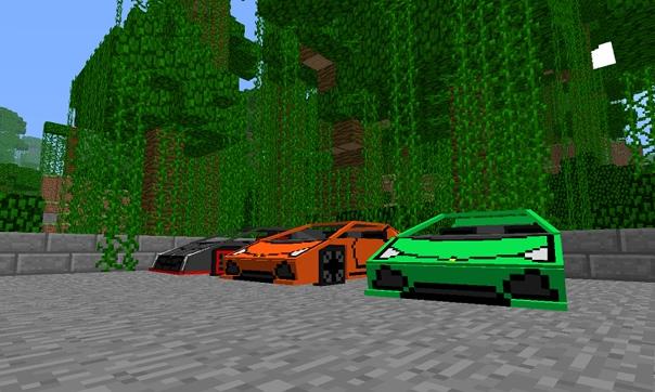 на крутые машины в майнкрафте ckachat #6