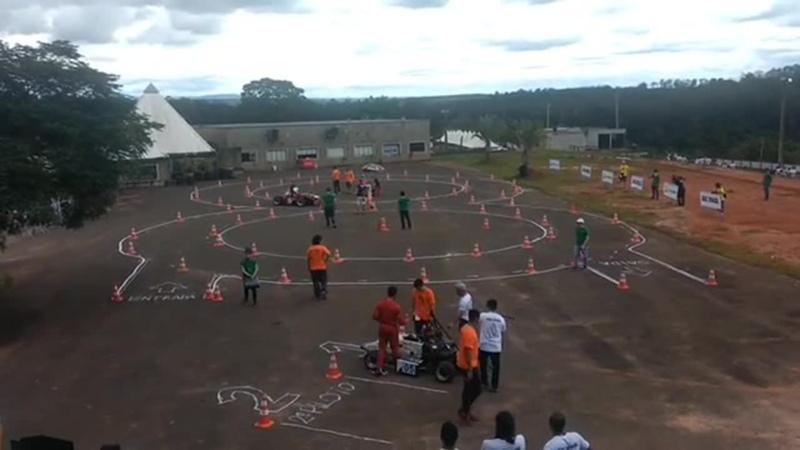 FSAE Brazil 2018 корявая восьмерка