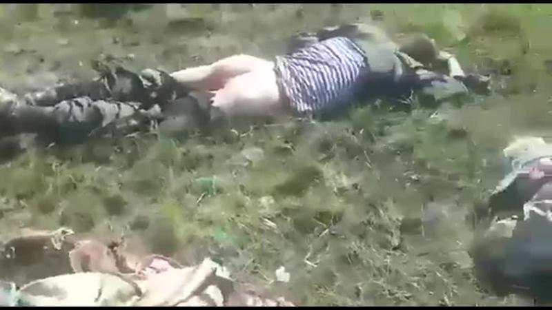 Подбили Урал боевиков. Район Фрунзе. 29.04.2017 (360p).mp4