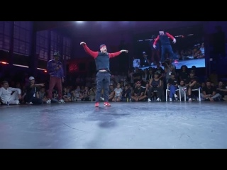 B-Boy Menno vs. B-Boy Bumblebee ¦ World Urban Games 2019 Semifinal