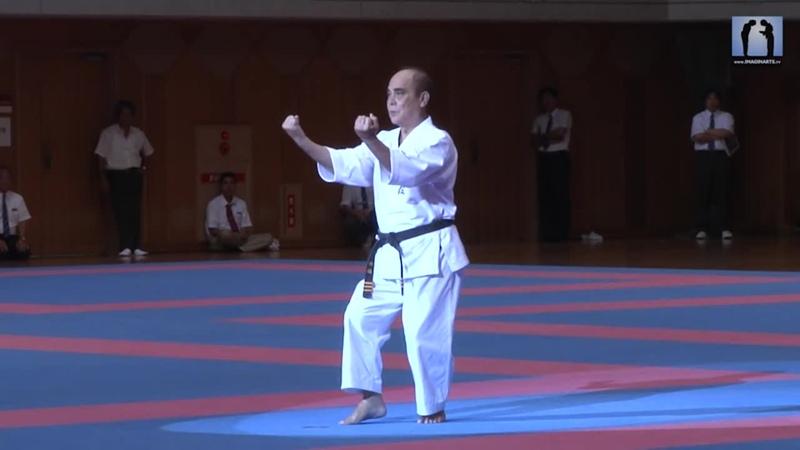 Arakaki Isamu sensei Kata Sochin