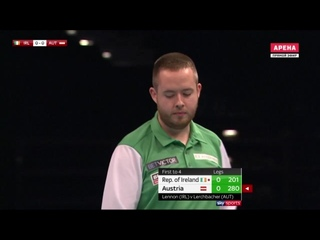Ireland vs Austria (PDC World Cup of Darts 2019 / Quarter Final)