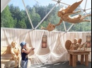 =ОБИТЕЛЬ АНГЕЛОВ= Музей деревянной скульптуры в Горном парке Рускеала в Карелии.