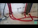 Монтаж отопления водопровода и канализации в котедже