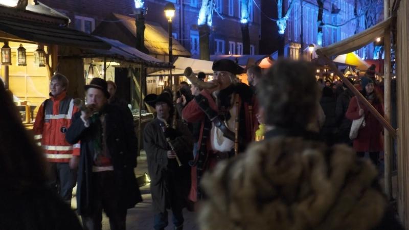 Конец Пиратской Рождественской Ярмарки в Бремене