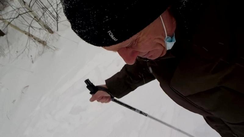 Встал на лыжи в Воздвиженском.