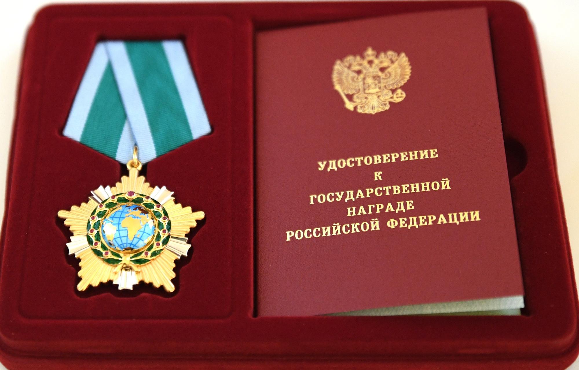 Игорь Руденя вручил государственные и региональные награды жителям Тверской области перед Днём Конституции