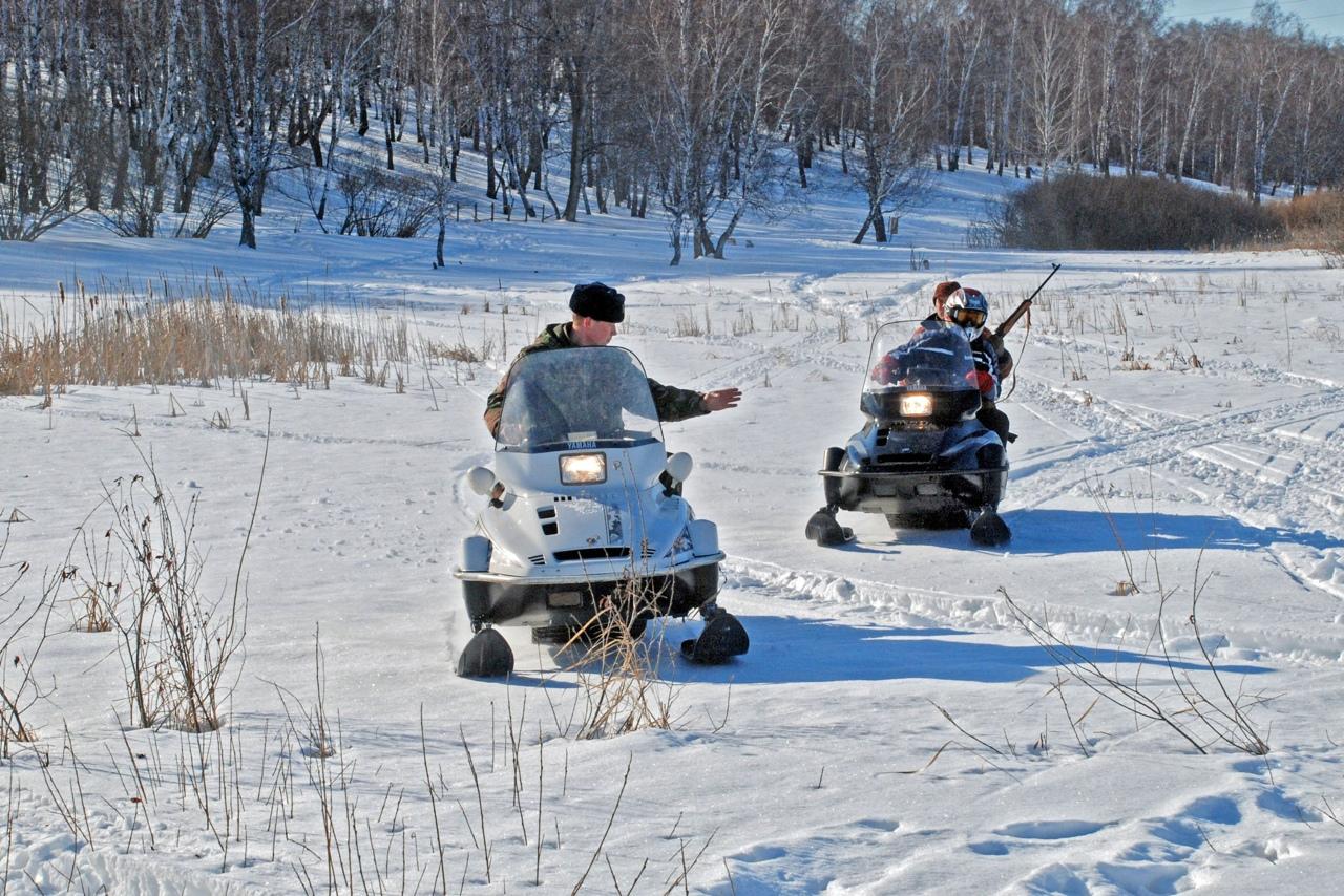В Петровском районе продолжается профилактическая операция «Снегоход»