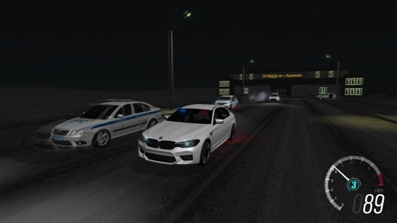 [DEV] BMW M5 F90 - Unmarked Russian Police car
