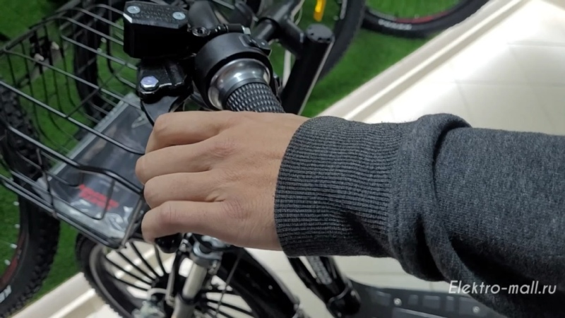 Электровелосипед WHITE SIBERIA CAMRY 1500W