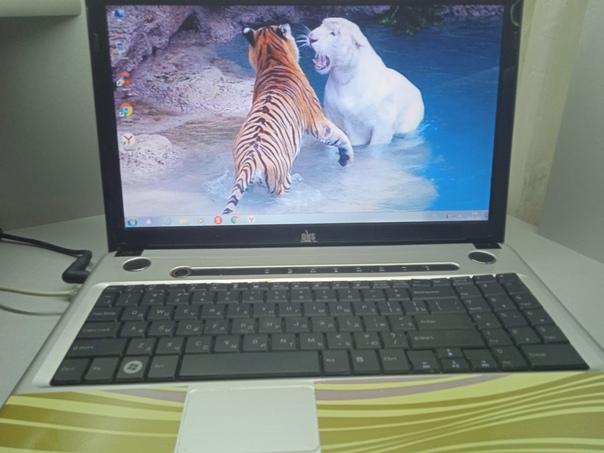 Продам ноутбук DNS A15 HC в рабочем состоянии ! Ус...