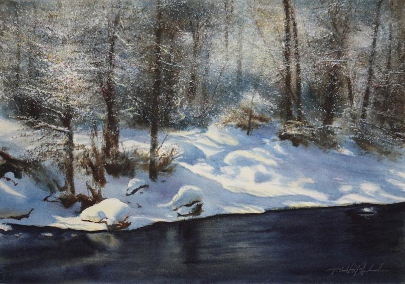 Американский художник-акварелист. Robert McFarland, изображение №46