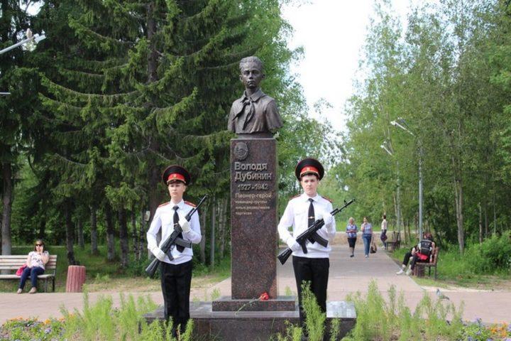 Аллею детям-героям ВОВ открыли в Печоре