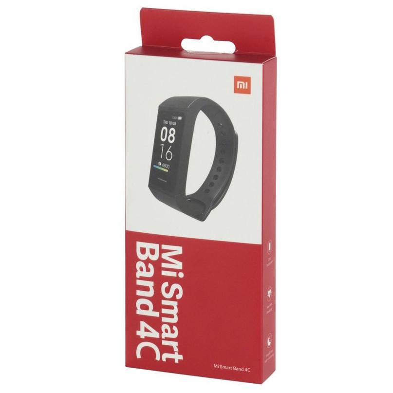 Фитнес-браслет Xiaomi Mi Smart Band 4c Black ORIGINAL GLOBAL, по выгодной цене з...