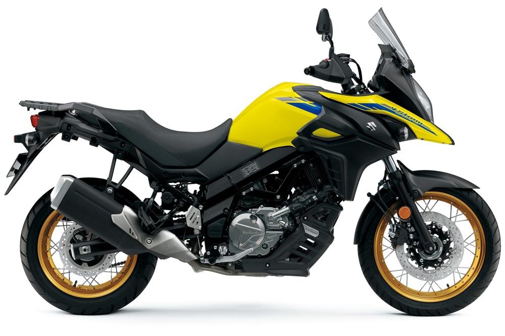 Мотоциклы Suzuki 650 2021 получили новые цвета