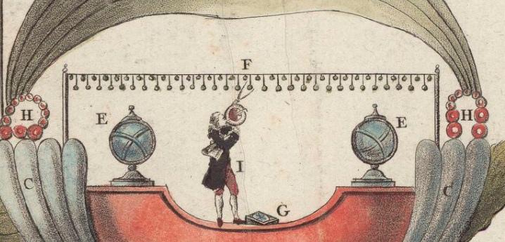 Исчезла решетка, небесная сфера, глобус и часы.