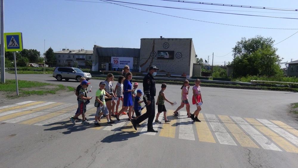 Зауральские школьники стали участниками профилактической акции «Безопасность вашего ребенка»