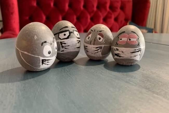 Битва яйцами будет легендарна