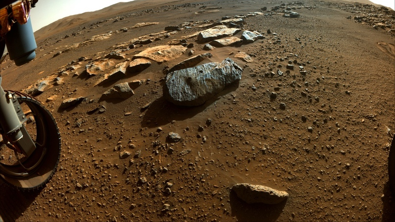 В месте отбора первых проб марсианского грунта ровером Perseverance вода находилась длительное время