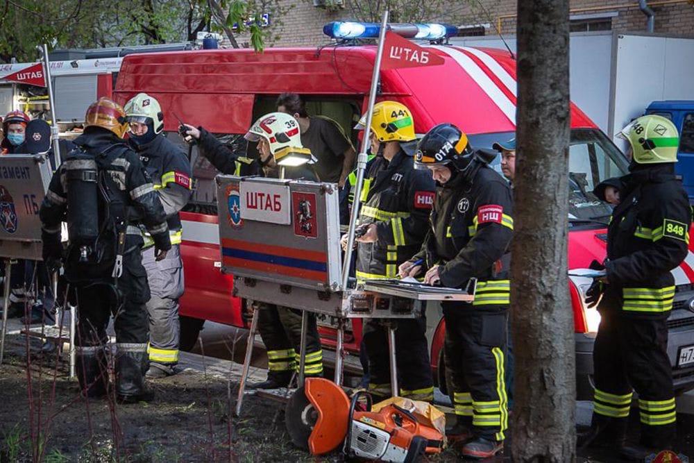 Ижевские школьники пострадали в пожаре в Московской