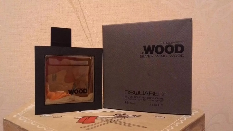 Dsquared2 He Wood Silver Wind (мужские) 100 ml. 1590 руб