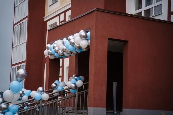 На проспекте Победы заселили первый дом, который носит им...