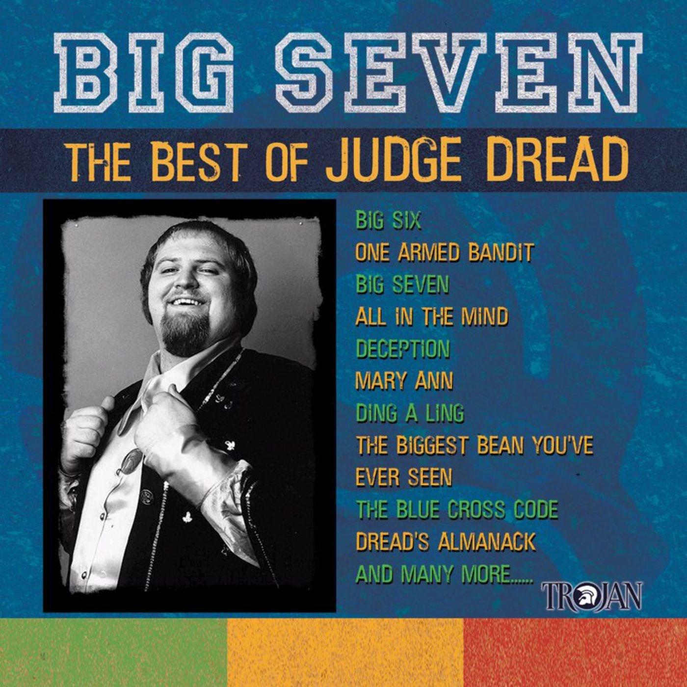 Judge Dread album Big Seven: The Best Of Judge Dread