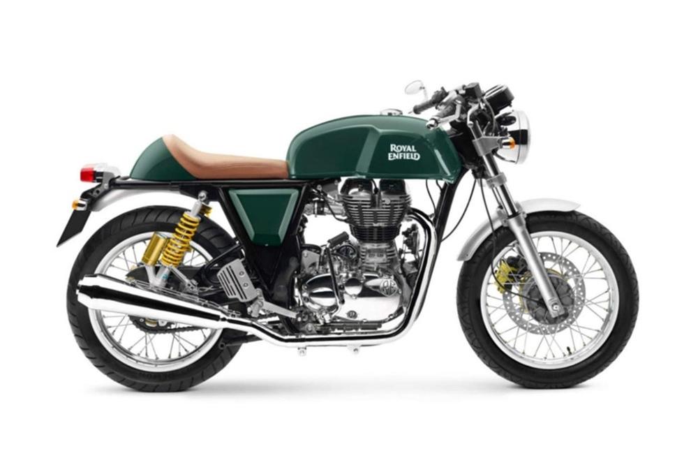 Barbara Custom Motorcycles: концепт Royal Enfield Continental GT535