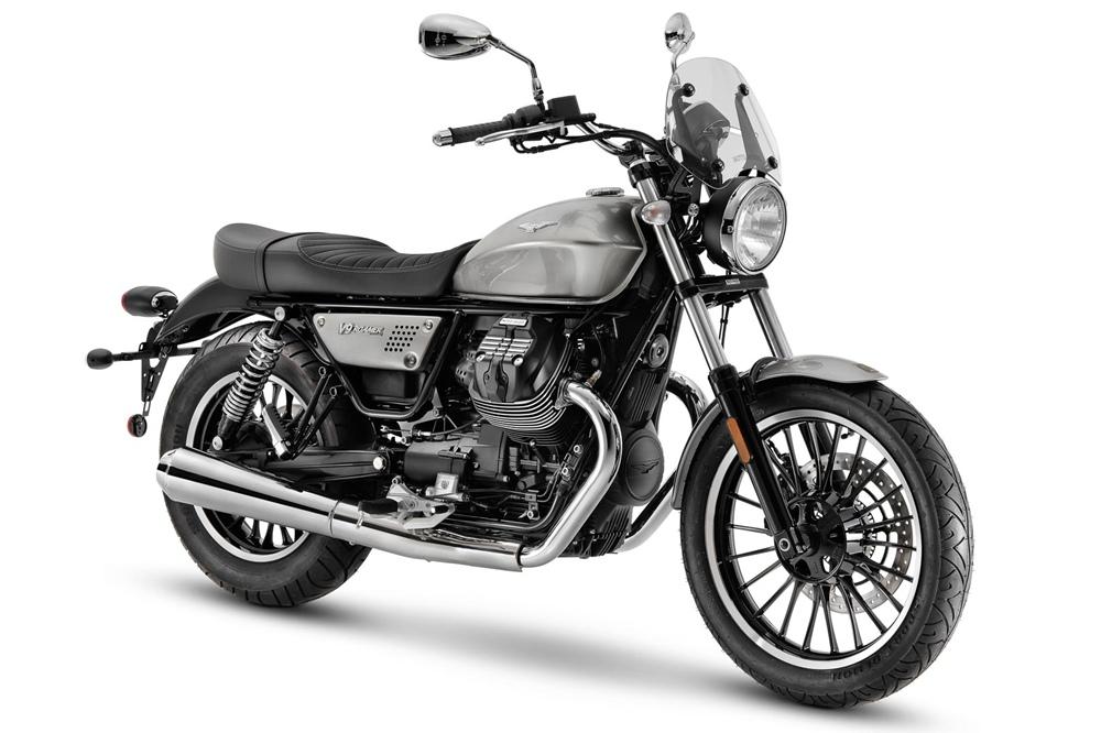 Линейка мотоциклов Moto Guzzi V9 2021: Bobber и Roamer обновили