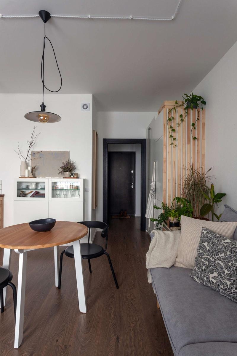 Обстановка квартиры-студии 26 кв.
