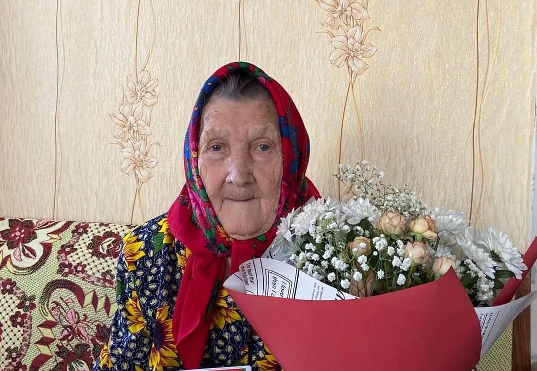 Петровчанка Анна Ивановна БОГОМОЛОВА сегодня празднует 95-летний юбилей
