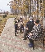 Сельскому уюту быть! В Ивово продолжается благоустройство сквера