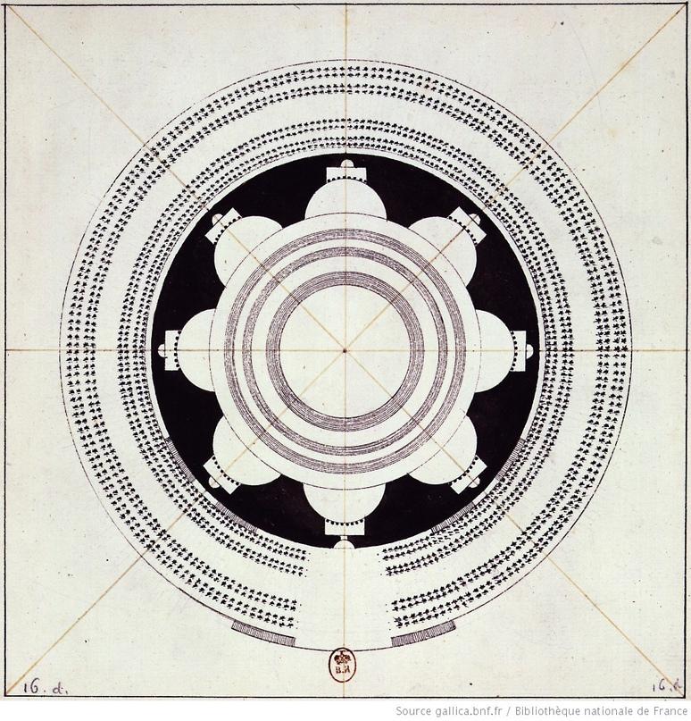 Загадка архитекторов Этьена Булле и Клода Леду идеи которому давали «сущности выходящие из тени», изображение №16