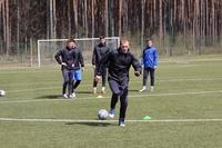Сегодняшняя тренировка перед матчем 2-го тура, который состоится завтра (25.04.2021)
