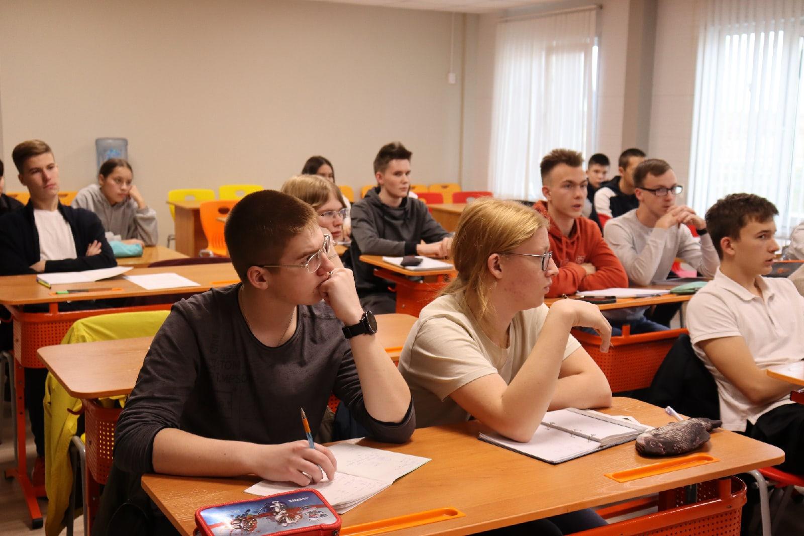 В Чумляке стартовала профильная смена для юных учёных