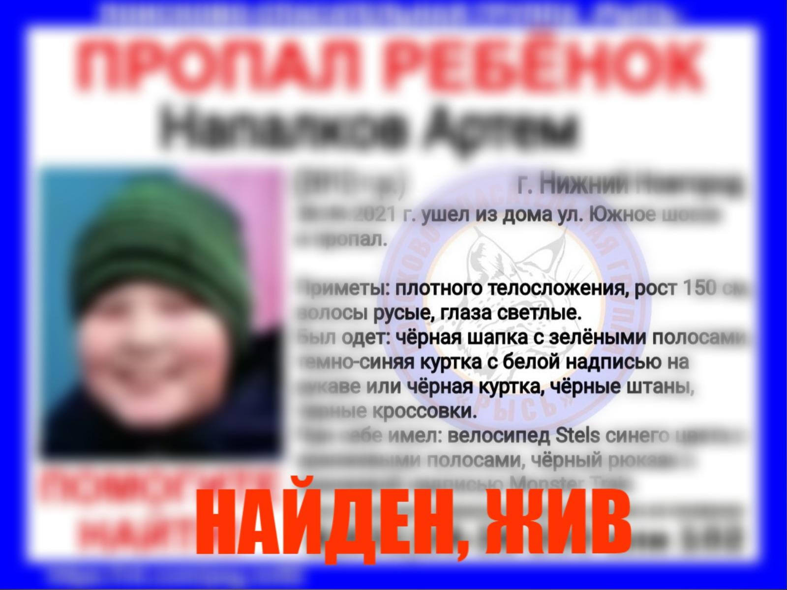 Напалков Артём, 2012 г. р., г. Нижний Новгород