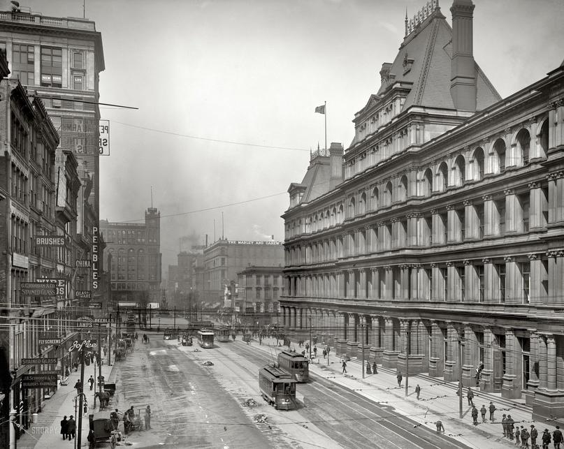 HD-фотографии городов США сделанные в 1900-1915 годах, изображение №13