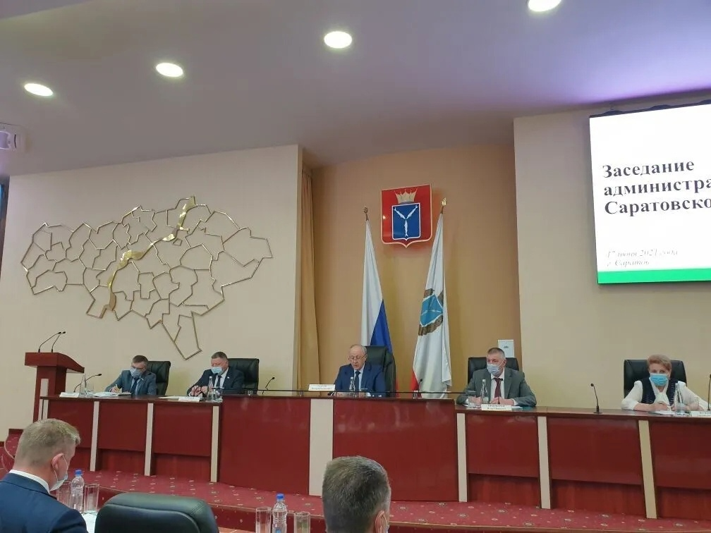 Глава Петровского района принял участие в заседании регионального административного совета