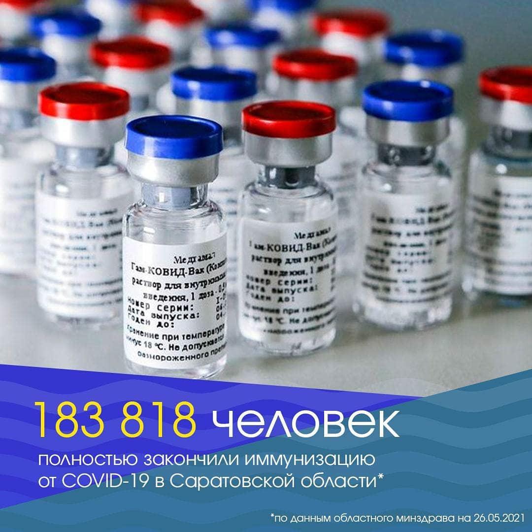 Петровская районная больница напоминает жителям о том, что вакцинация на сегодня самая эффективная защита от COVID-19