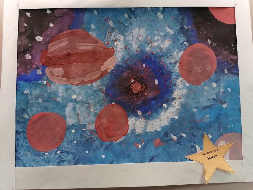 Выставка рисунков, посвящённая 60 -летию полёта в космос Юрия Гагарина, изображение №4