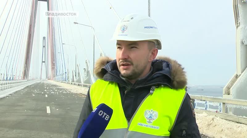 Мост на остров Русский планируют открыть для движения авто