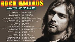 Bon Jovi, The Eagle, Gun N' Roses, Nirvana, Scorpions, Aerosmith - Slow Rock Ballads 70s, 80s, 90s
