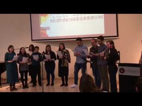 Choir performance Bless the Lord o my soul Chapel LCC March 4 2020 With French Horn Timur3ch