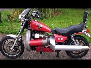Homemade Turbo Jet Engine Motorcycles