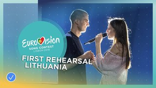 Ieva Zasimauskait - When We're Old - First Rehearsal - Lithuania - Eurovision 2018