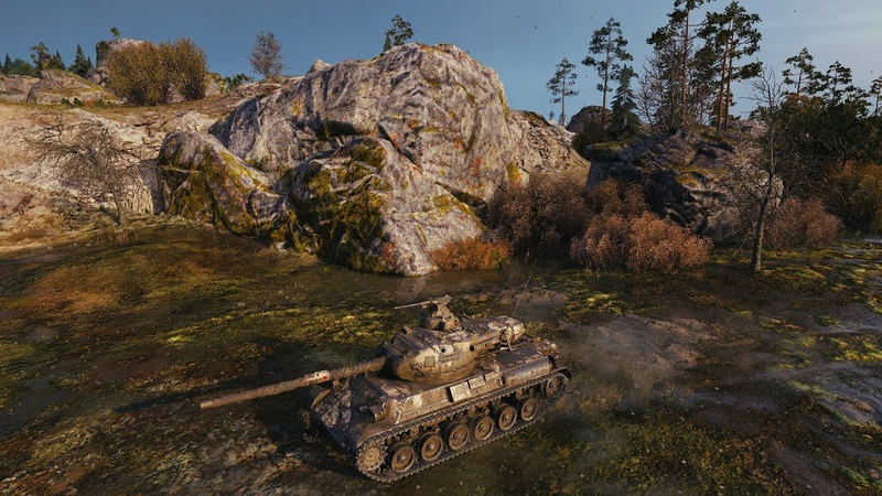 World Of Tanks Бой MIXAJIbI4 CTPEJI9Y