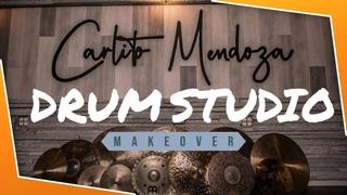 Drum Studio Tour! WOW WHAT A CHANGE!