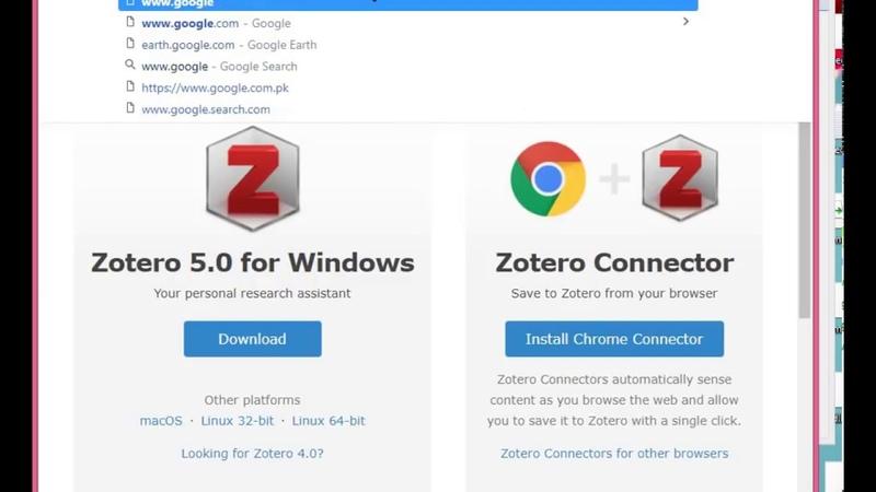 Learn Zotero Step by step tutorial